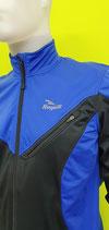 Rogelli Softshell Jacke mit Brusttasche blau-schwarz unisex