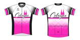 Verge Sport Core Radtrikot Cologne pink- black  Edition Herren im Relaxed-Cut