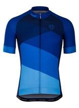 "Verge Sport Herren Core Radtrikot ""Blue Edition"" kurzarm"