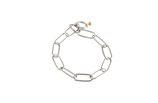Halskette langgliedrig, Edelstahl, 4mm