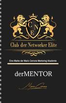 """Notizbuch """"Club der Networker Elite"""" derMENTOR"""