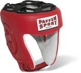 Paffen Sport ''Contest''Wettkampf Kopfschutz, rot mit und ohne DBV Marke