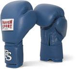 Wettkampfhandschuhe Paffen Sport ''Contest'' blau, auch mit DBV Prüfmarke erhältlich.