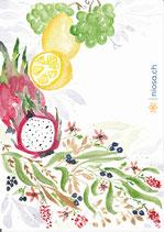 A23 -Früchte und Beeren - Postkarte