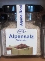 Alpensalz, Natur Hurtig, 125 g, Glas