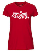 Schneebrett T-Shirt Powder rot Women