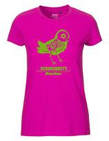 Schneebrett T-Shirt Rocker pink-neongrün Women
