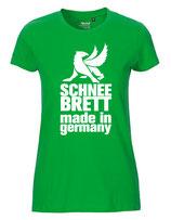 Schneebrett T-Shirt Classic grün Women