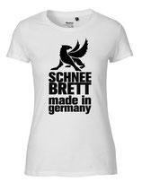 Schneebrett T-Shirt Classic weiß Women