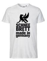 Schneebrett T-Shirt Classic weiß Unisex
