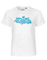 Schneebrett T-Shirt Powder weiß Kids
