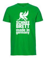 Schneebrett T-Shirt Classic grün Unisex