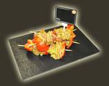 Brochette de Porc Ail Persil ou curry- Fait Maison
