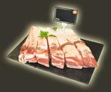 Travers de porc à griller