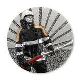 Emblem Feuerwehr 3D Resin 70mm