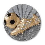 Emblem Fußball 70 mm 3D