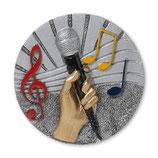 Emblem Musik 3D Resin 70mm