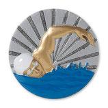 Emblem Schwimmen 3D Resin 70mm