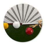 Emblem Billard 3D Resin 70mm
