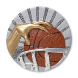 Emblem Basketball 3D Resin 70mm