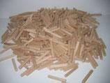 Buche Holzdübel geriffelt 50 mm lang