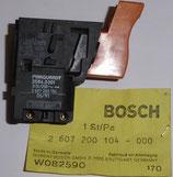 Original Bosch Ein-Aus - Schalter 2607200104
