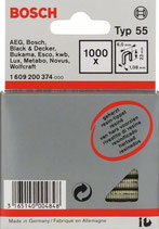 Bosch Tackerklammern 23/4 geharzt