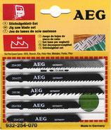 AEG Stichsägeblätter - Set VE 5 Stück