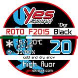 Roto F2015 20 Black (10 gr)