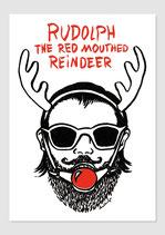 """Postkarte: """"Rudolph"""""""