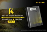 Cargador/ Power Bank Nitecore F4