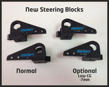 Steering Block new -7mm Set