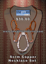 Scrm Copper Necklace Set