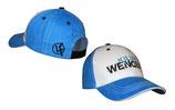 Baseballcap blau/weiss