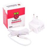 offizielles Raspberry Pi USB-C Netzteil 5,1V / 3,0A, EU, weiß