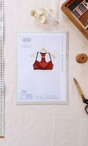 Nanna Pattern Desgin bustier Nemorosa