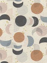 Kokka: Canvas mit Kreis und Mond