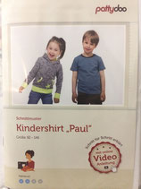 Paul, Kindershirt, Papierscnnittmuster, Pattydoo, versandkostenfrei