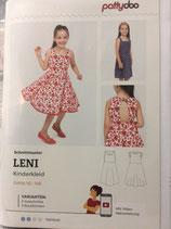 Leni, Kinderkleid, Papierschnittmuster, Pattydoo, versandkostenfrei