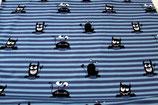 Sheldon, Nano Softshell, Monster, Streifen, Blau, Swafing