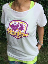 Ha-flow Tシャツ(オフホワイト) ドルマン型(女性用)