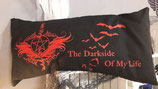NackenkissenHülle Pentagram The Dark Side Of My Life 40x80 cm