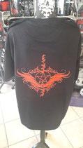 Tshirt mit Fledermäusen und Pentagram