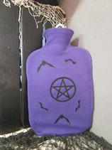 Wärmflasche Pentagram und Fledis