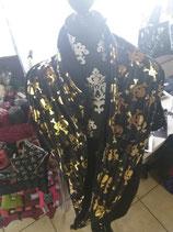 Loop Schal Goldene Skulls