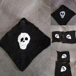 Topflappen mit Skulls