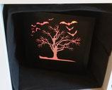 BeleuchteterRahmen Baum mit Fledis