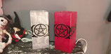 Glaslampe Pentagram