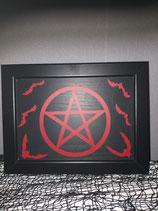 Türschild Pentagram