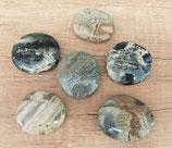 Silberstreifenjaspis - Stein der Erde - geweiht in die Göttin GAIA